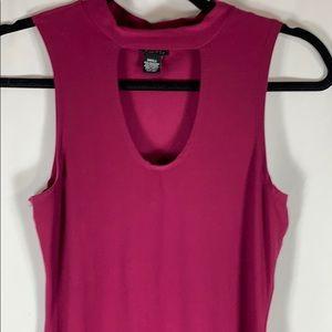 Rue 21 Choker T-Shirt Dress
